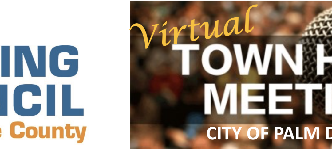 Virtual Town Hall Meeting Palm Desert – Fair Housing in the Time of COVID-19